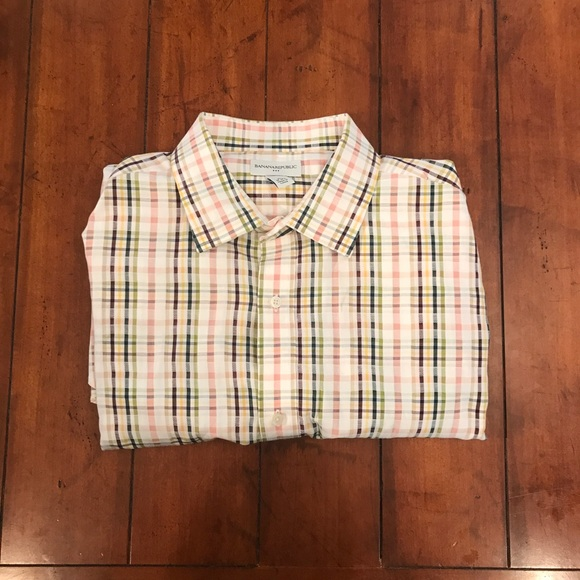 Banana Republic Other - Banana Republic Men's Dress Shirt D10